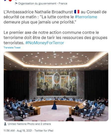 Frog ambassador to UN warns the Taliban