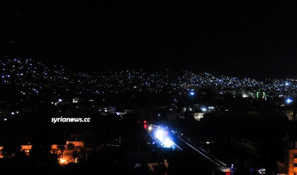 Electricity blackout in Syria after a terrorist attack on the gas pipeline