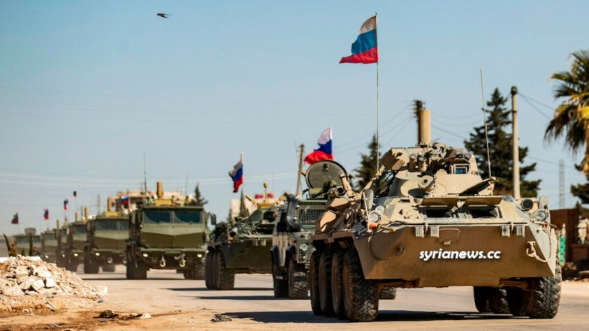 Russian troops in Syria الجيش الروسي في سوريا