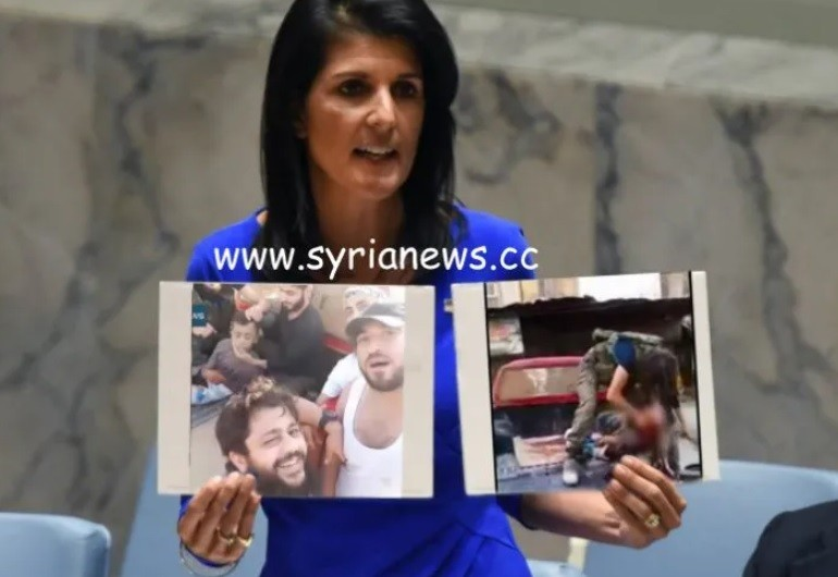 Haley never showed photos of Helmets' related terrorists cutting off head of Abdullah Issa to UNSC