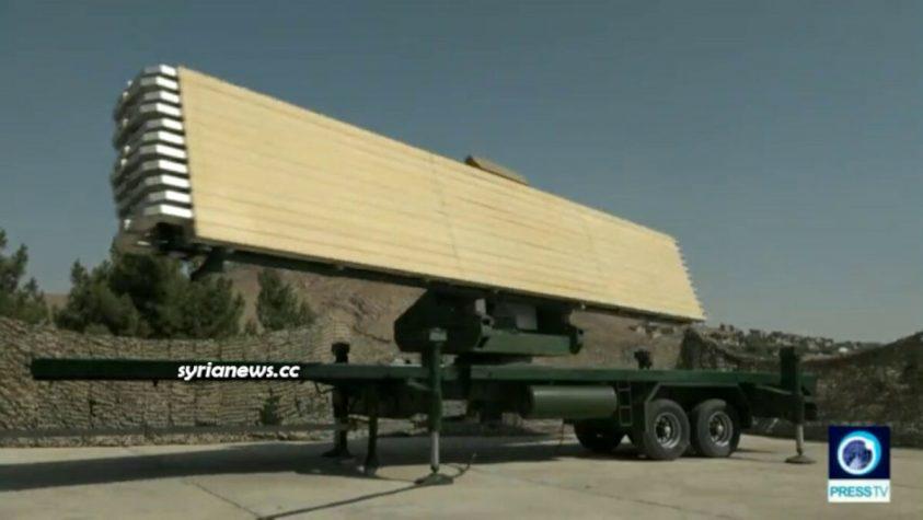 Iran Darb Shams and Hurmoz Radar Air Defense Systems