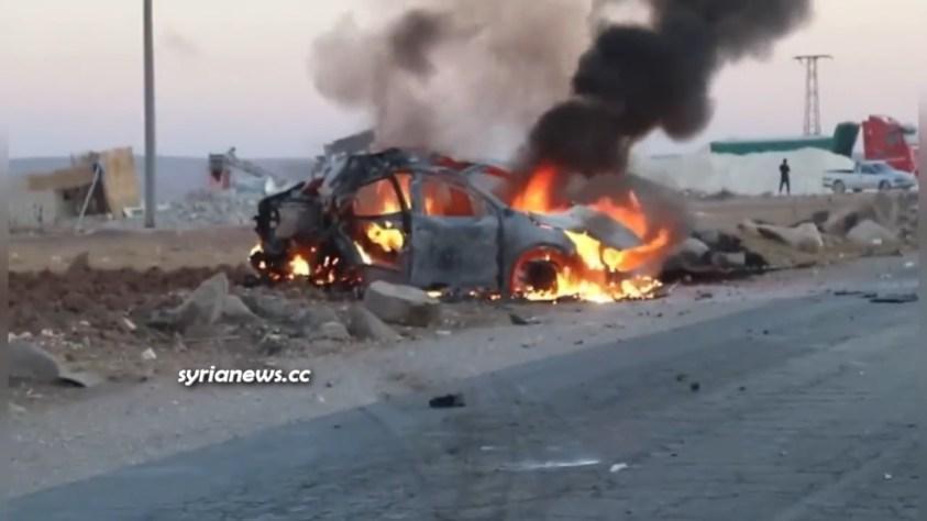 NATO Turkish drone bomb NATO Kurdish SDF terrorists in northern Syria