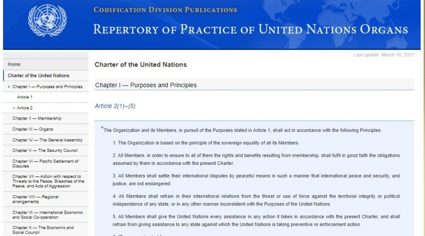 Biden regime troops breach International Law & Charter, as the Nazi junta of the UN collectively avert its gaze.