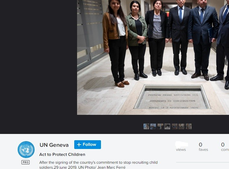 """What """"country"""" is UN Geneva talking about? The SDF terrorist gang is not a ''country."""""""