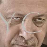 Erdogan, you are a War Criminal under Internat. Law: Turkey invades Syria, kills civilians, the Internat. Community applauds