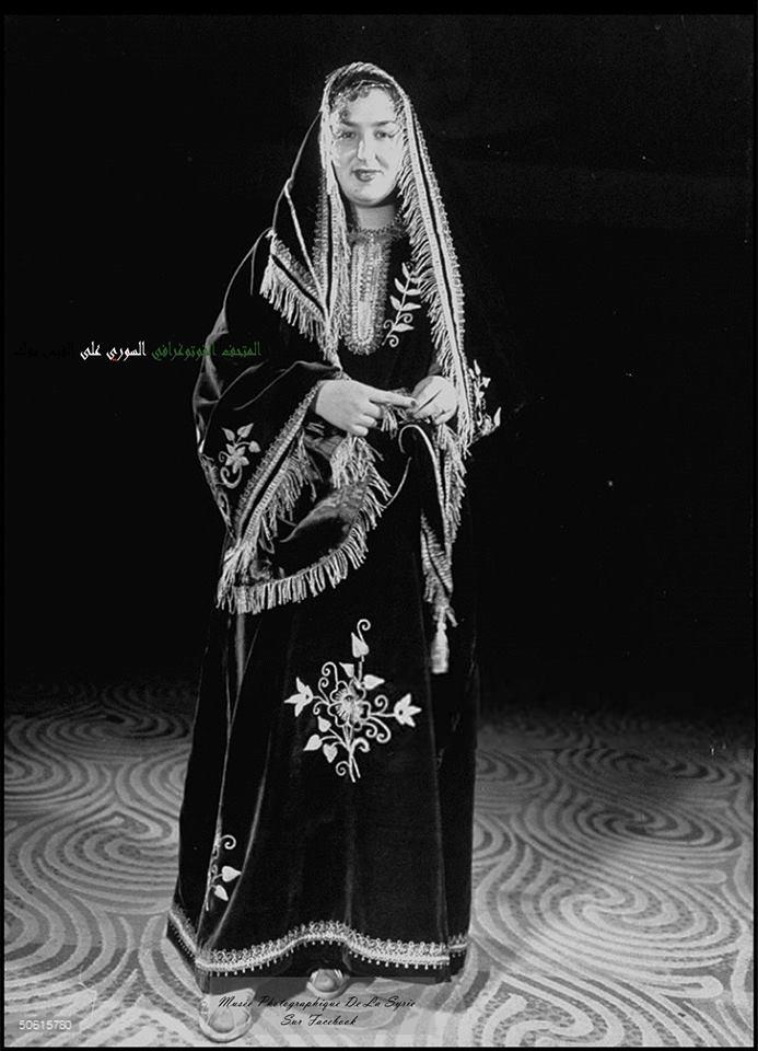 السورية فايزة خوري في نهائي مسابقة جمال الأمم المتحدة1948