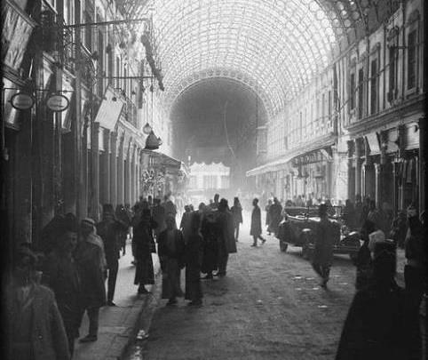دمشق: سوق الحميدية عشرينات القرن العشرين