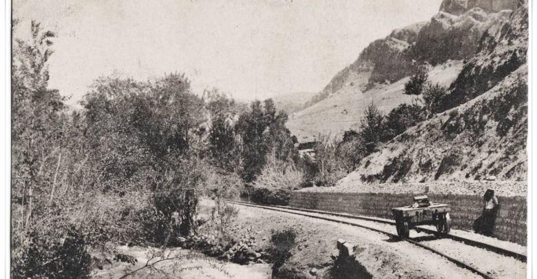 ريف دمشق 1907 - بطاقة بريدية ززوادي بردى  - قرب بسيمة