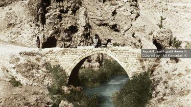 الجسر الروماني على نهر بردى في قرية سوق وادي بردى