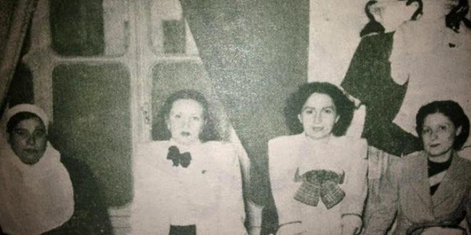 الاحتفال ببناء دار التوليد الكبرى في حلب عام 1945