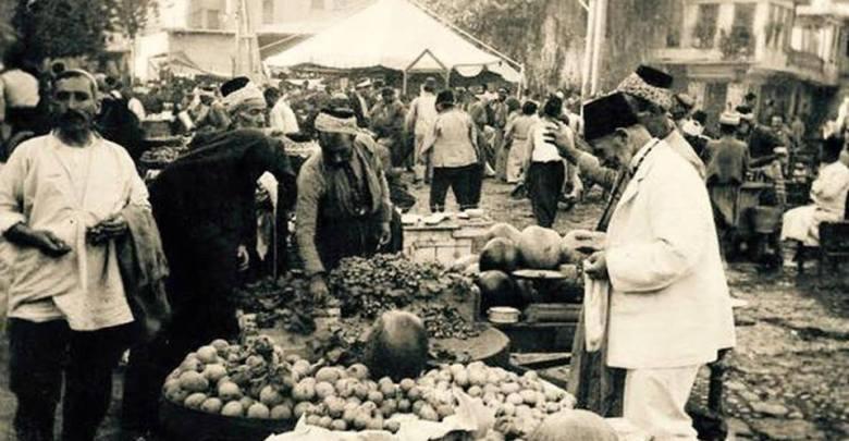 ساحة سوق الخيل في نهاية أربعينيات القرن العشرين