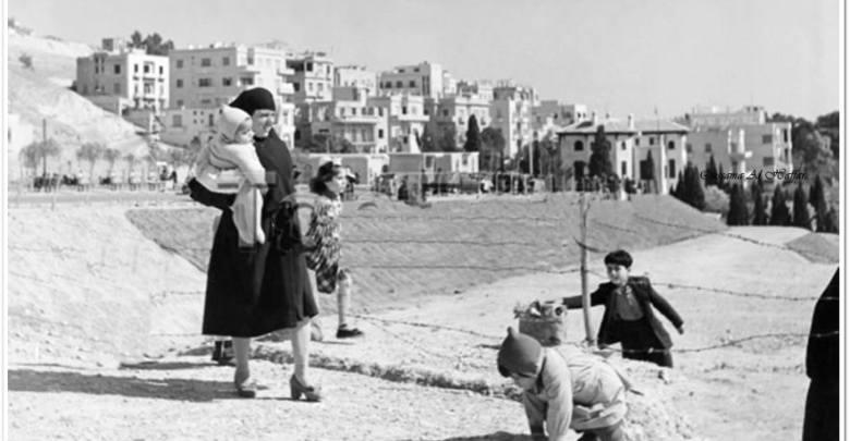 دمشق - ســــاحة المهاجرين آخـــر الخـــط...1959