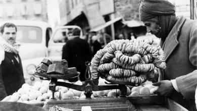 حمص  1965 : بائع التين المجفف