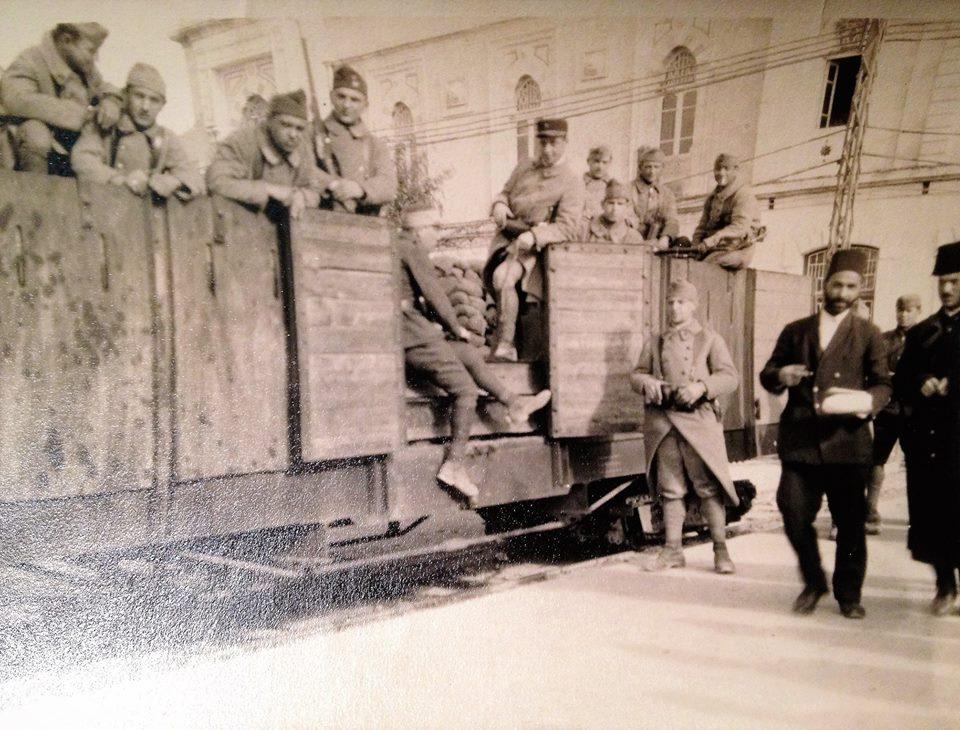 دمشق محطة الحجاز 1926
