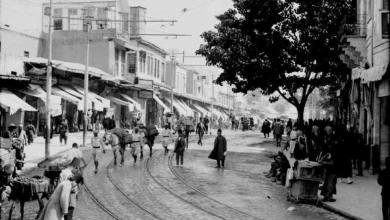 دمشق - لمحلة السنجقدار من الشمال الى الجنوب في مطلع عام 1941