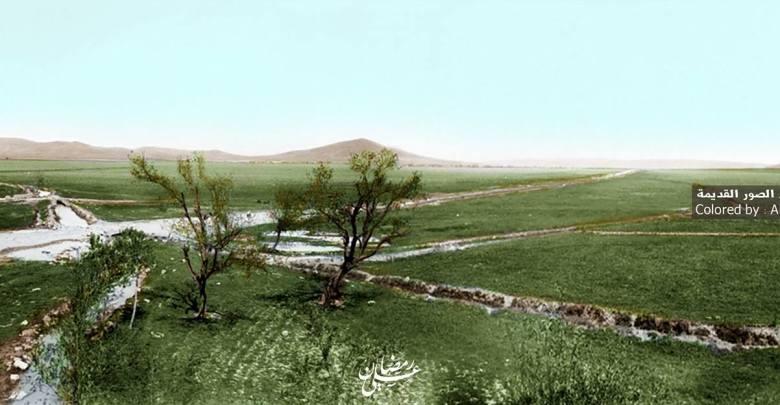 منظر عام للكسوة - جنوبدمشق- عام 1918