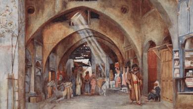 دمشق - سوق علي باشا عام 1907م