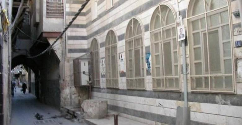 دمشق  – واجهة المدرسة البادرائية  (10)