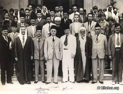 المشاركون في مؤتمر بلودان الأول 1937