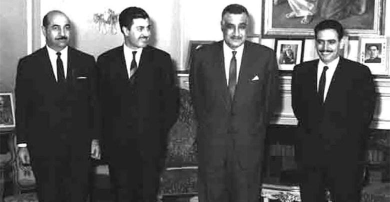 جمال عبد الناصر يستقبل إبراهيم ماخوس - حزيران 1966 (3)