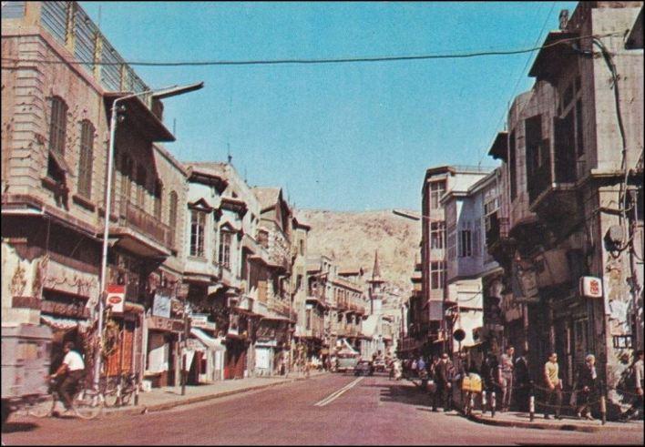 دمشق - الصالحية الشهداء..تقاطع شارع العابد مع البرلمان