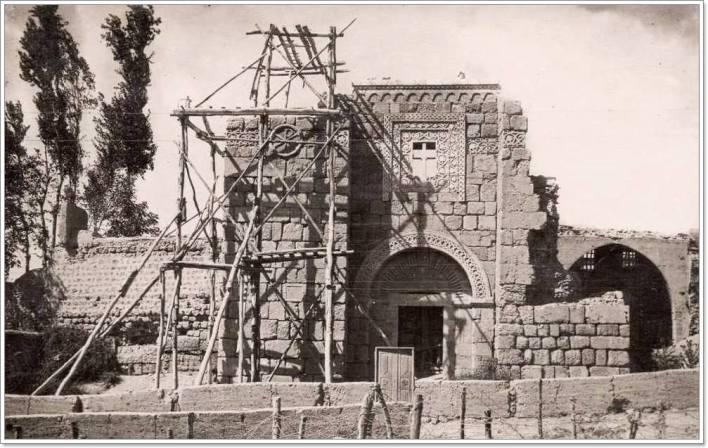 دمشق 1928 - 1930 - ترميم باب كيسان -كنيسة القديس بولس