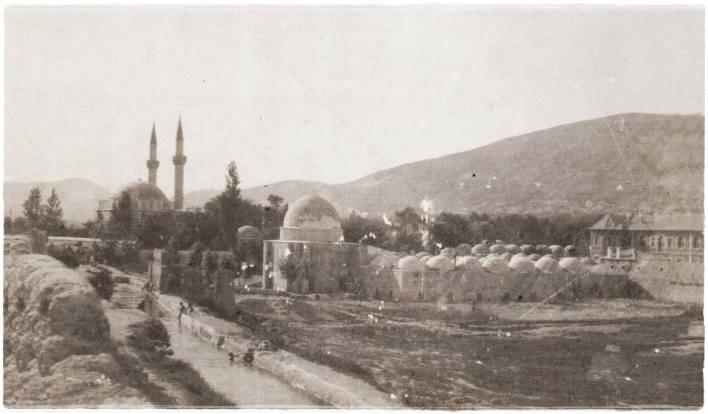دمشق - التكية السليمانية عام 1920