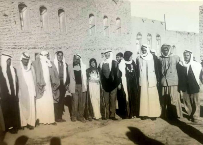 الرقة 1954- من حفل زفاف فيصل حداد علوش العجيلي