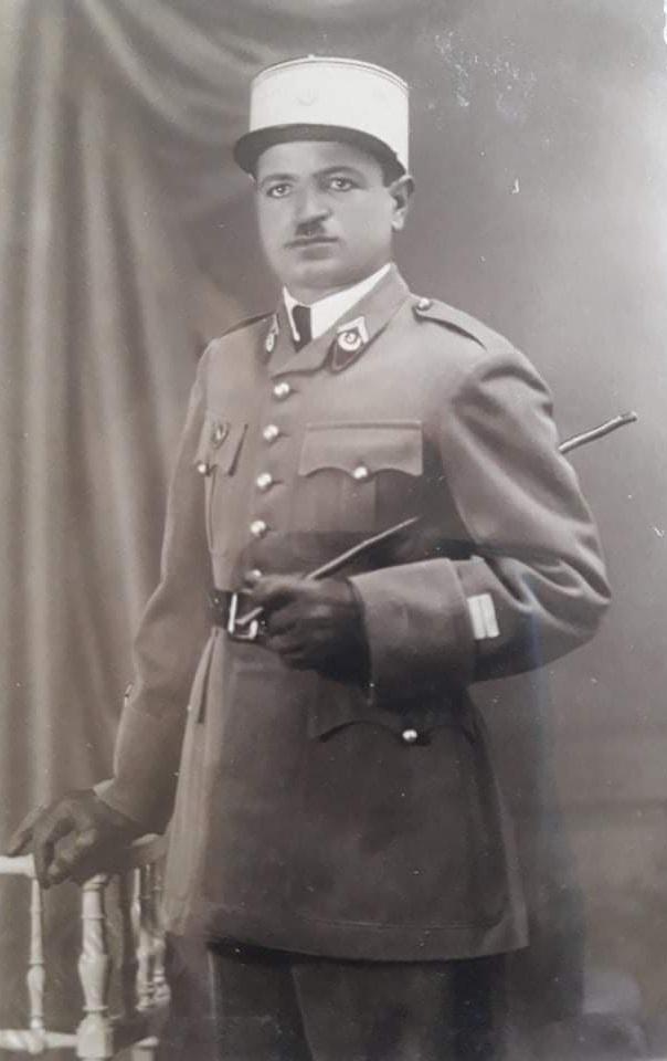 الملازم أول أمين أبو عساف.. مدير دورة العرفاء والجنود عام 1941