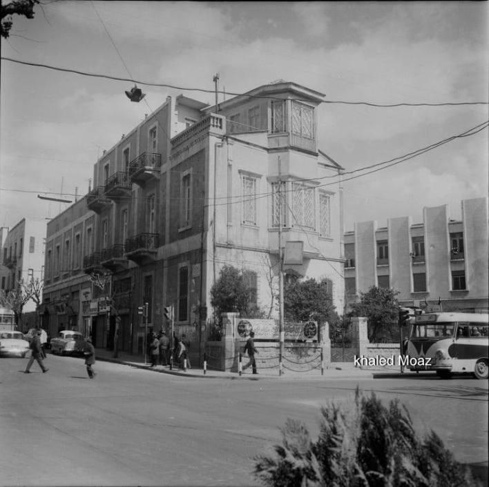 دمشق 1965 - طريق الصالحية وتفرعاته (4)