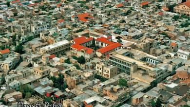 دمشق القديمة - مكتب عنبر وكنيسة المريمية عام 1993