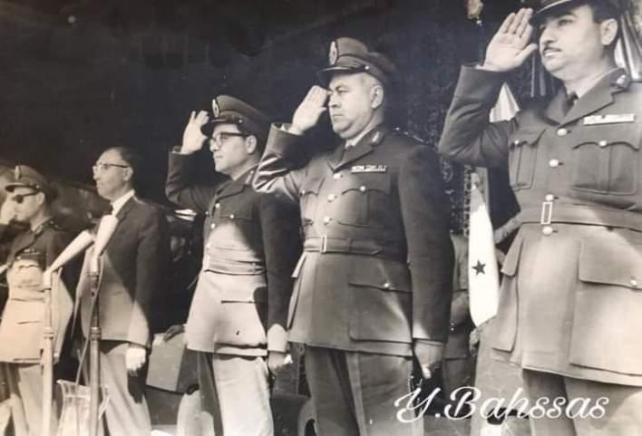 عرض عسكري بمناسبة عيد الجلاء في 17 نيسان 1963م