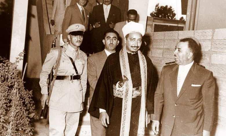 دمشق 1958- خليل كلاس وولي العهد اليمني محمد البدر (2/2)