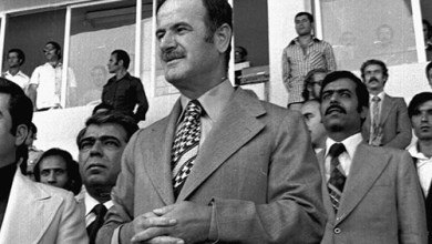 حافظ الأسد في افتتاح ملعب العباسيين (6)