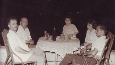 يوسف الدبيسي وسلمان البدعيش في القاهرة 1960