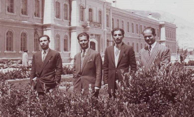 من الرعيل الأول من طلاب السويداء في جامعة دمشق عام 1949