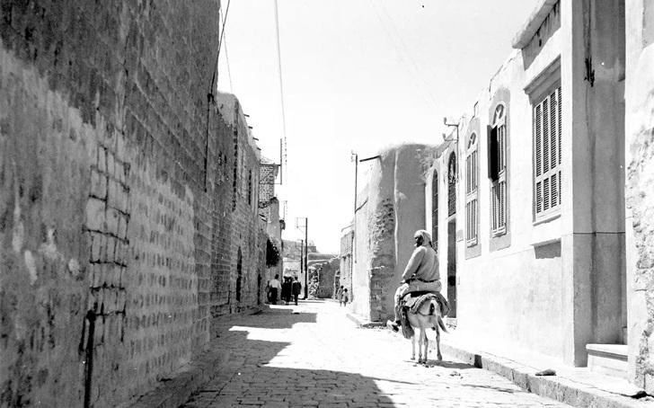 شارع الذهبي - باب هود في حمص في خمسينيات القرن العشرين