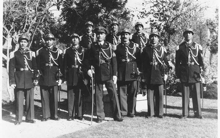عبدالسلام رفعت لاش رئيس الحرس الجمهوري وكتيبة الحرس في المهاجرين 1951