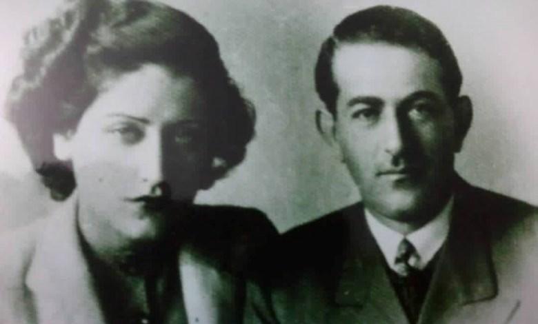 """الأمير حسن الأطرش وزوجته الأميرة آمال الأطرش""""اسمهان"""""""