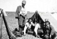 توفيق نظام الدينفي مخيم تدريب الكلية الحربية في النبك 1934 (2)