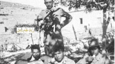توفيق نظام الدين ورفاق دورته في مخيم في راس بعلبك 1934