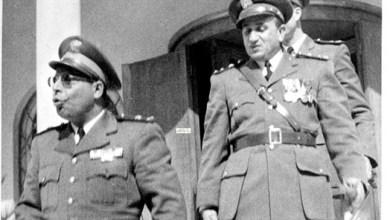 توفيق نظام الدين ومحمود شوكت عام 1954
