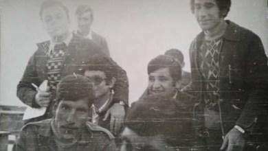 طلاب في الثانوية الصناعية في الرقة عام 1976