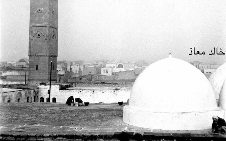 معرة النعمان ومسجدها الكبير في خمسينيات القرن العشرين