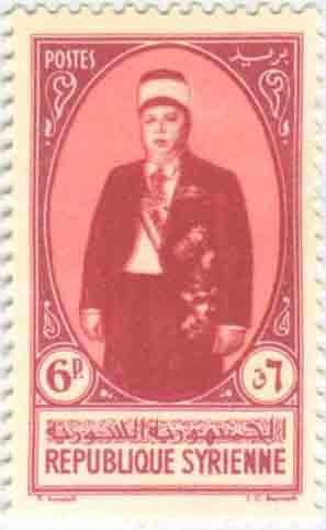 طوابع سورية 1942 -طوابع البريد العادي