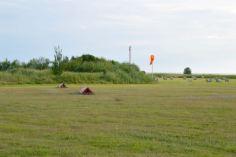 End of runway