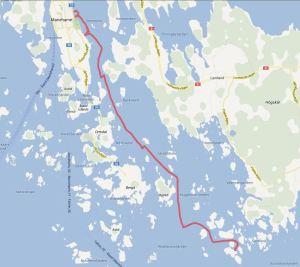 Mariehamn - Rödhamn