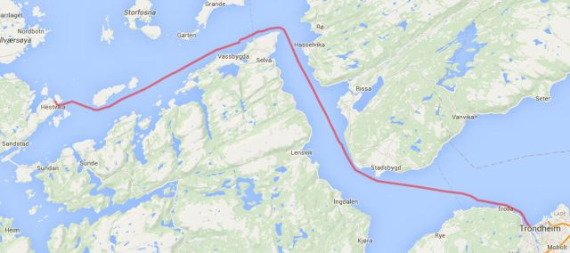 Trondheim - Boroysund