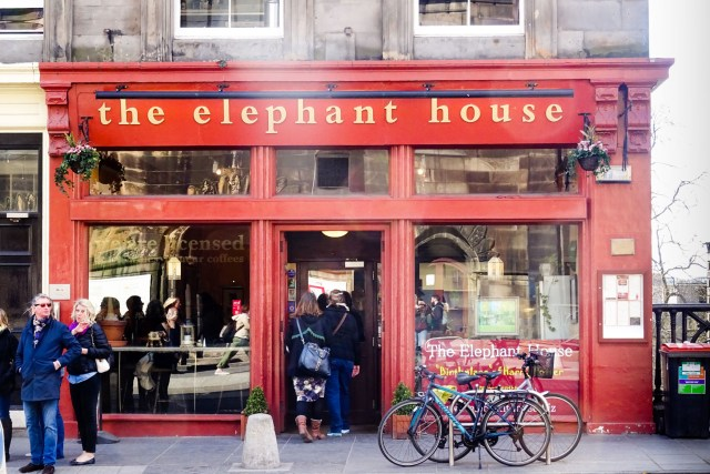 The elephant house - Geburtshaus von Harry Potter