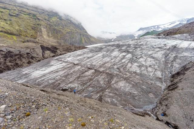 Gletscherzunge - hier geht´s los
